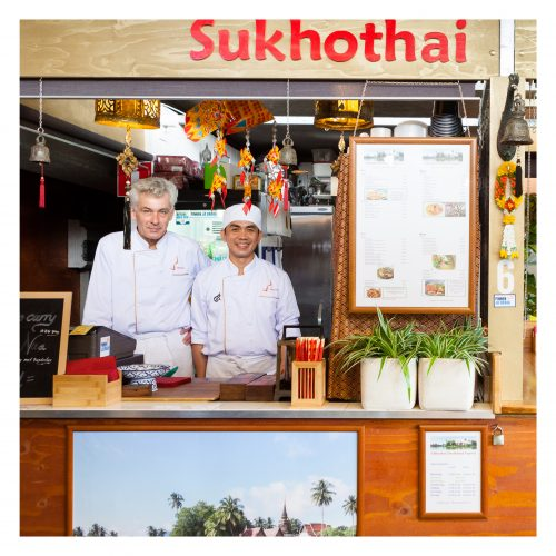 Sukhothai, thais. streetfood, Amsterdam, World of food